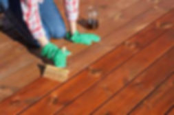 wood decking oiling