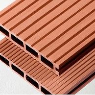 Redwood composite decking