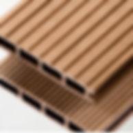 Caramel composite decking