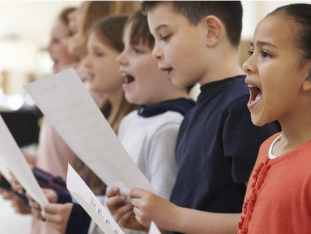 Recreating the sound of a children's choir without any actual children.