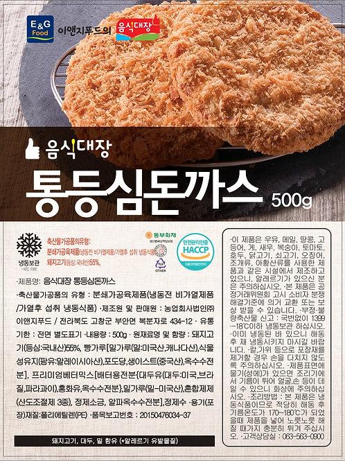 음식대장 통등심돈까스 500g(100g*5ea)