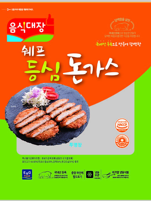 음식대장쉐프등심돈까스 1.8kg(180g*10ea)