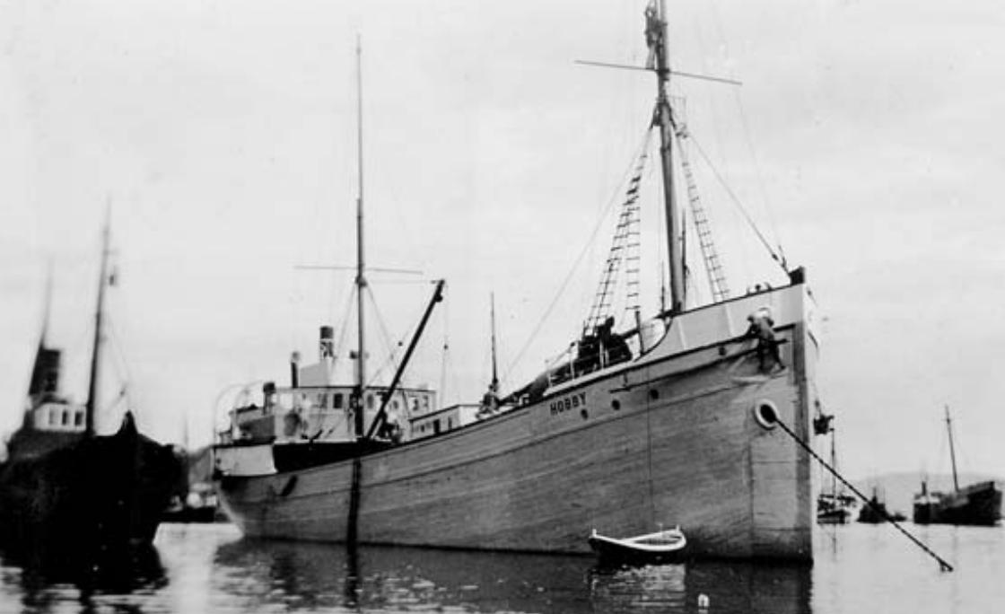 Hobby Louis' ship