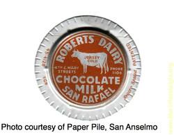chocolate milk lid