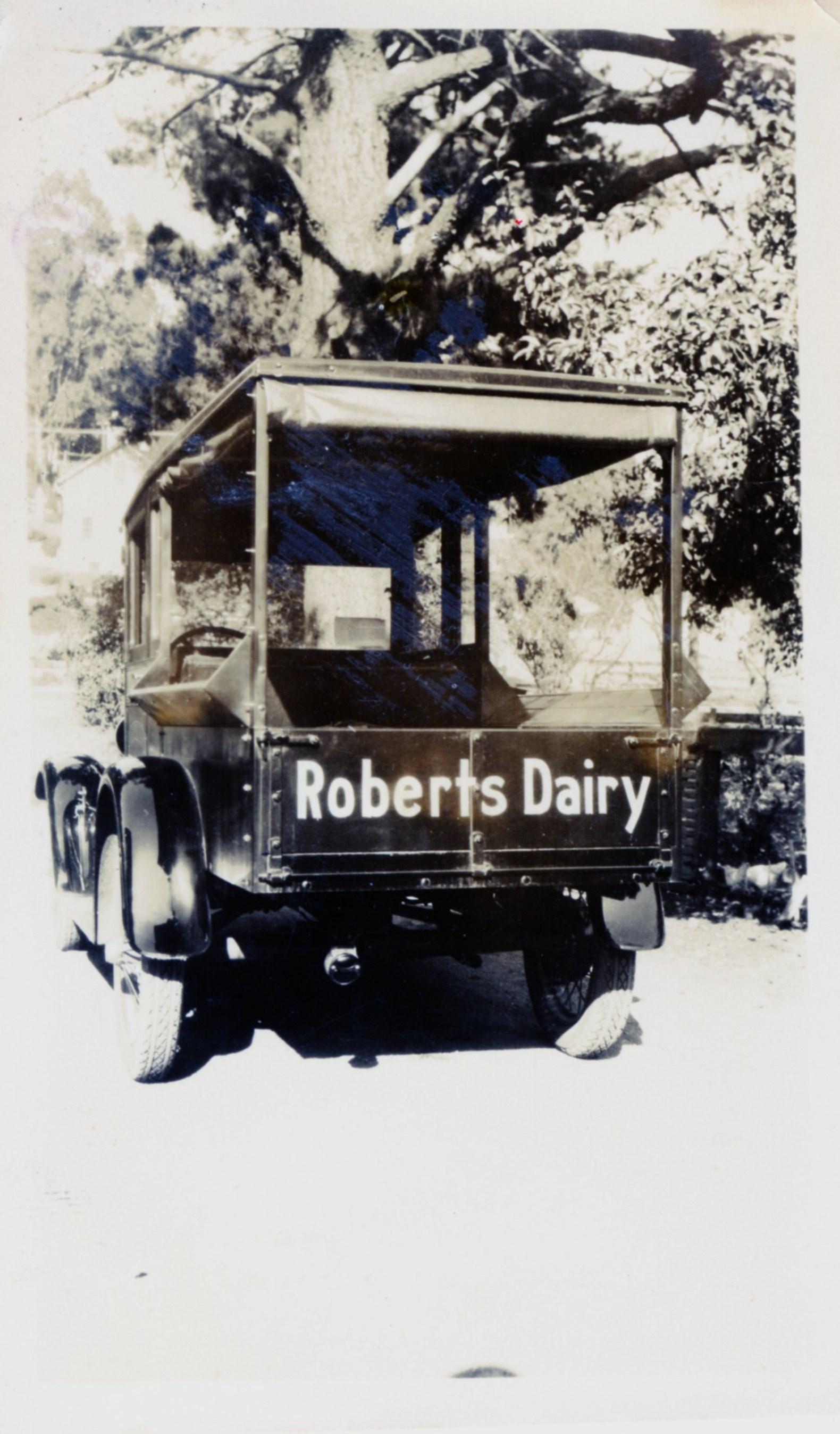 RobertsDairyCar