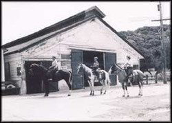 San Anslemo riding at the Ranch