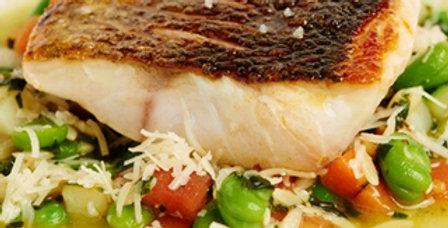 Wild Chilean Sea Bass Steak  8oz
