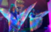 Vestuarios de luz led Animación Musical LOS UNICOS