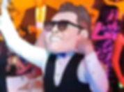 Cabezón de Luis Miguel, cabezón de Luismi, Animación Musical LOS UNICOS