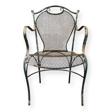 Chippy iron chair  Dimensions: Quantity: 2