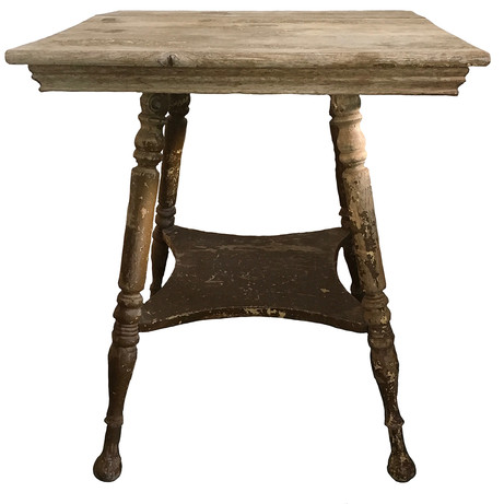 Vintage side table  Distressed wooden side table.  Dimensions: 23 x23 x 28 Quantity: 1