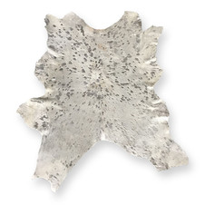 Hints of silver in this small cowhide.  Quantity:1