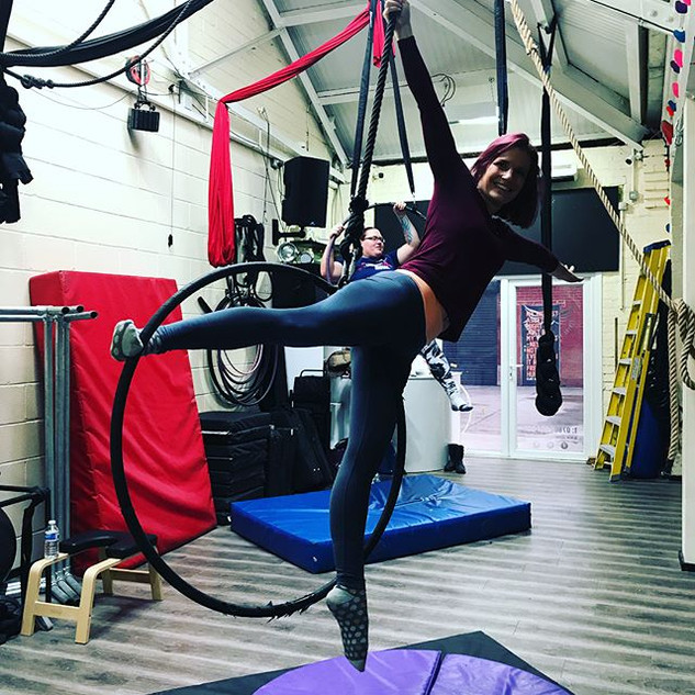 How amazing are our Aerial Hoopers 💕💪�