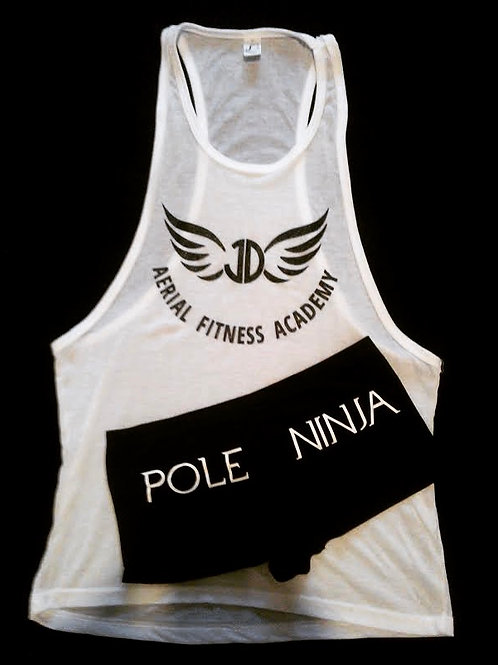 Vest and Pole Ninja Shorts Set