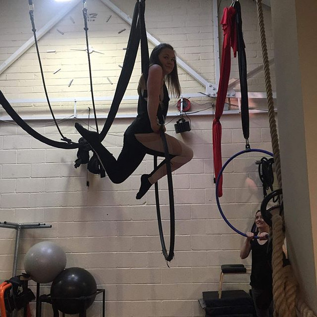 Aerial Fundays with our gorgeous hoopers