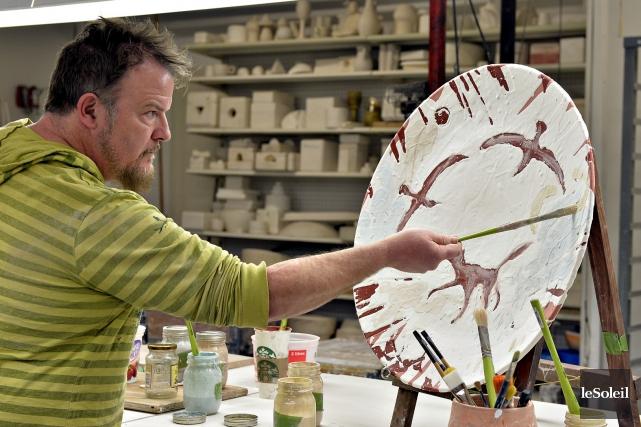 Le Céramiste Peintre