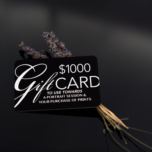 Andrea Blakesberg Photography Gift Card