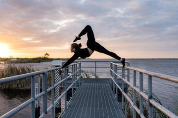beautiful fitness photography