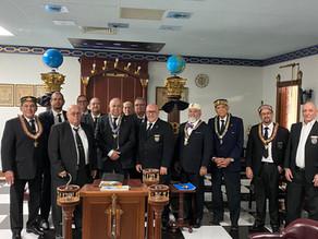 Sesión del Consistorio Grado XXXII del Supremo Consejo