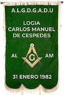 Estandarte  logia Carlos Manuel de Cespe