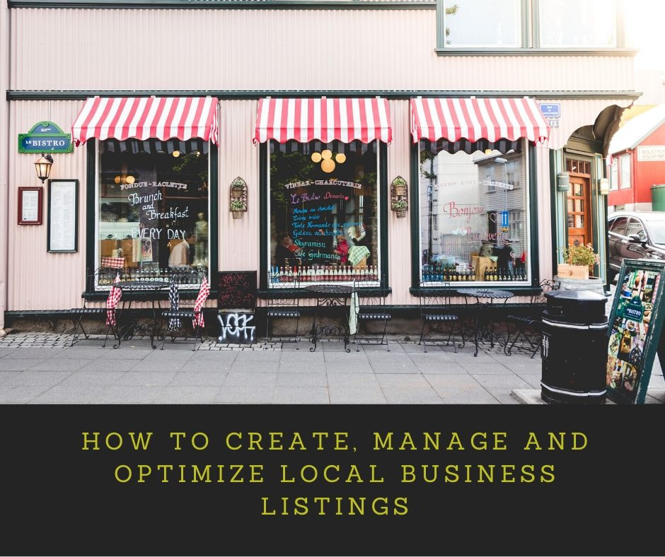How to create, manage and optimize local business listings