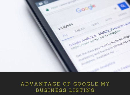 Advantage of Google My Business Listing