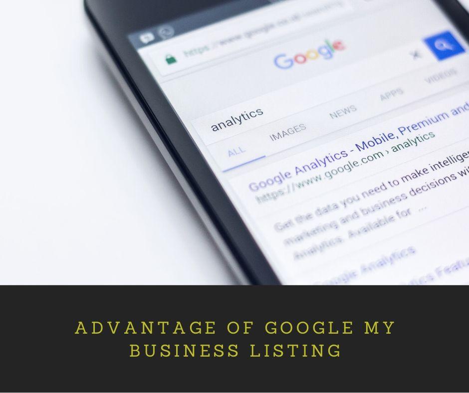 Advantage Of Google My Business