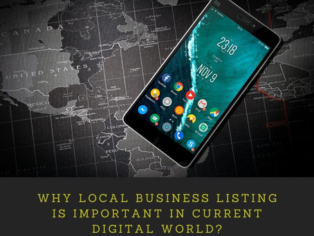 Why Local business listing is important in current digital world?