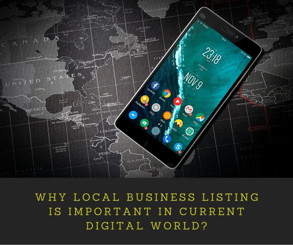 Local business listing is important in current digital world