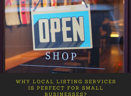 Why Local Listing Services is Perfect for Small Businesses?