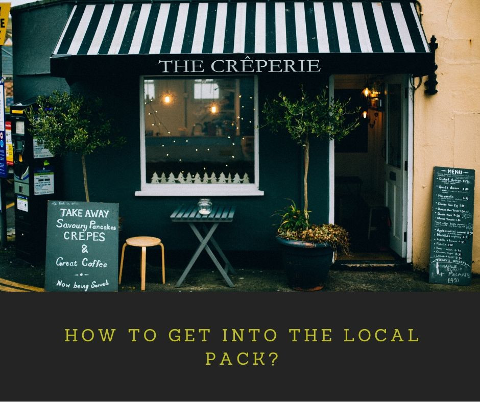 How to get into the Local Pack?