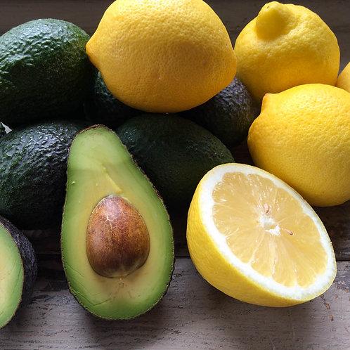 25 Hass Avokado & 5 limon