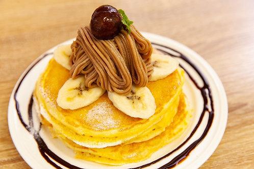 仏産モンブランパンケーキ