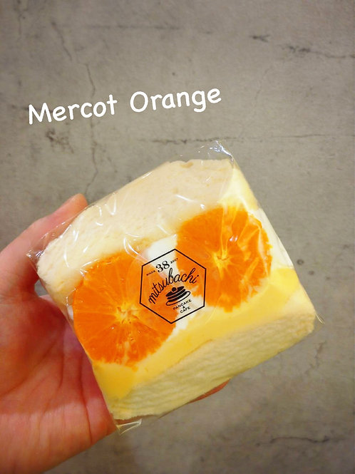 ふわふわ♪スフレパンケーキ・マーコットオレンジ(600円税別)