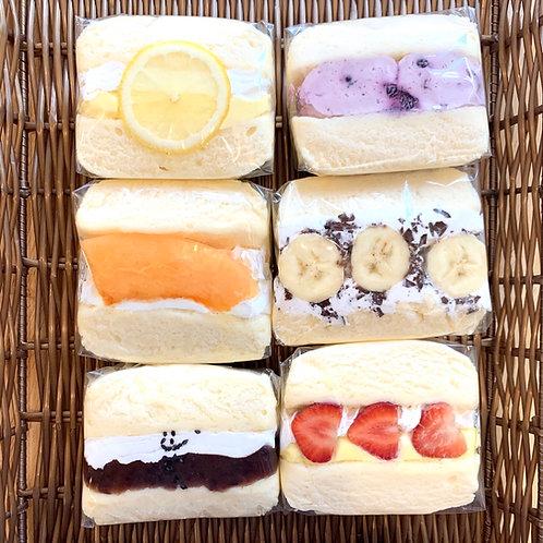 ふわふわスフレパンケーキ6種セット
