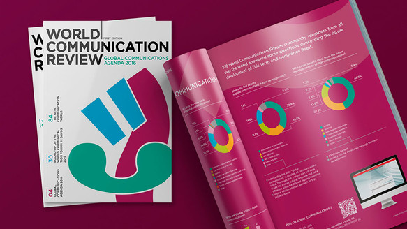 Разработка ежегодного издания для World Сommunication Forum Association (WCFA)