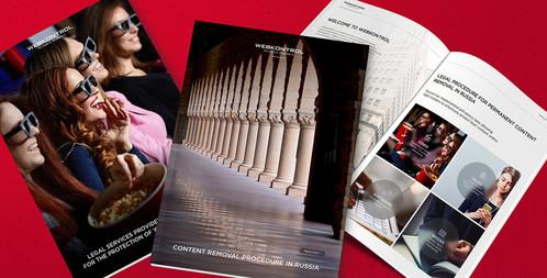 Разработка дизайн-стратегии компании, брошюр, годовых и квартальных отчетов для WebKontrol