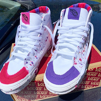 Pink & Purple Vans (High)