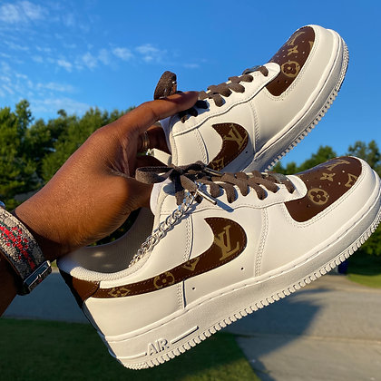 Brown/Tan Louis V AF1