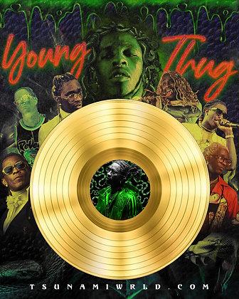 Young Thug Vinyl Poster
