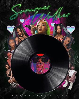 Summer Walker Vinyl Poster
