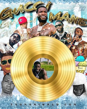 Gucci Mane Vinyl Poster