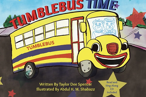 Tumblebus Time Book and CD