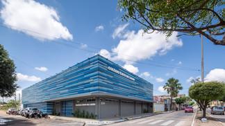 Retrofit das fachadas do colégio Êxito do Cariri