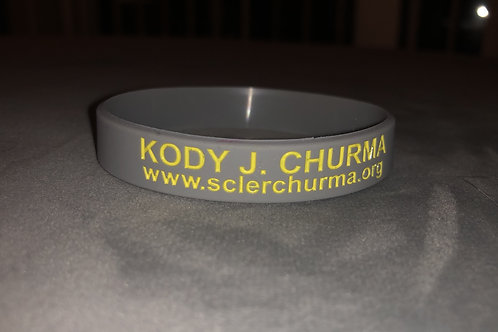 Kody J Churma Awareness Bracelet