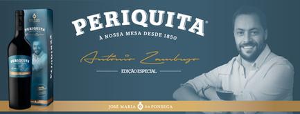 Criação de uma Edição Especial Vinho Periquita by Antonio Zambujo