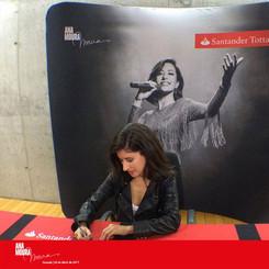 Apoio à Tour Ana Moura 2017 com o Patrocinio do Santander Totta