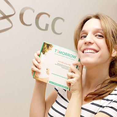 Endorsement Luisa Sobral com CGC Genetics