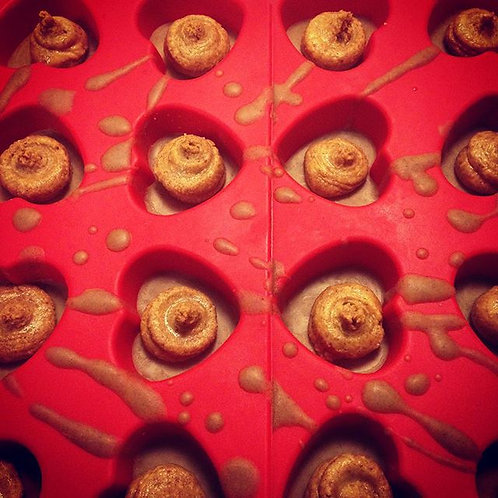 White Chocolate Peanut Butter Cup with Roasted PB