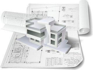 Architectural Design Drawing Vector